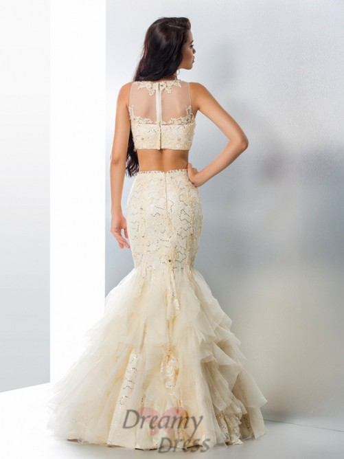 Sirène Tulle Longue Robes