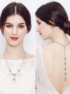 Perle Mariage nuptiale Grosses soldes Colliers
