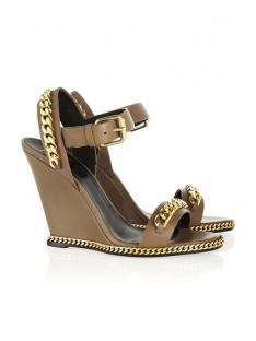Wedge Heel Chain Shoes SLSDN1456LF