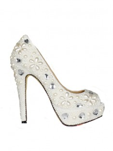 Plateforme Mariage Chaussures SMA02220LF