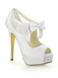 Dentelle Plateforme Talon Mariage Chaussures SW115201251I